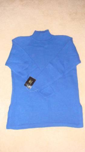 Misses Mock Neck Long Sleeves Tunic Sweater - S - NWT Bonanza