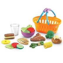 Learning Resources New Sprouts Dinner Foods Basket, Pretend Play Food, 1... - $17.15