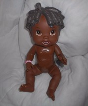 BABY ALIVE ALL GONE HASBRO 2009 INTERACTIVE BLACK GIRL TALKING DOLL TEST... - $43.53