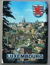 Luxembourg Folding Pictures Kodak Ektachrome 12 Views Alzette - $3.90