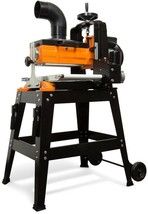 10.5 Amp 10 in Drum Sander Rolling Stand Variable Speed Conveyor Woodwor... - $862.29