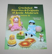Crocheted Favorites & Originals Jessie Abularach Volume 6 1982 - $8.42