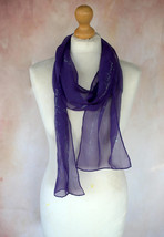 Jane Austen Gifts, Pride and Prejudice Quotes Hand Painted Silk Scarf, U... - $56.00