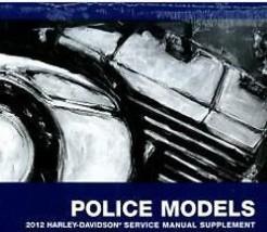 2012 Harley Davidson Flhtp Electra Glide Police Service Manual Supplement New - $143.50