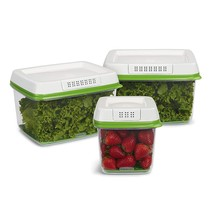 Rubbermaid Fresh Works Produce Saver Food Storage Containers 3 Pieces Set  - $98.95