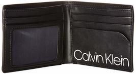 Calvin Klein CK Men's Genuine Leather ID Window Bifold Wallet 79813 image 13