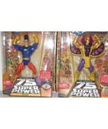 "LOT of 2 ✰ DC Universe Classics 6"" Figure OMAC + GOLDEN PHAROAH MOC Seal... - $32.99"