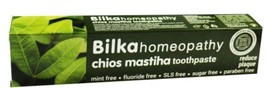 Bilka Homeopathy Chios Mastiha Toothpaste Mint, Sugar and Fluoride Free 75 ml - $6.49