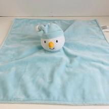 Koala Baby Snowman Luxe Plush Soft  Security Blanket Lovey Toys R Us Blu... - $22.00