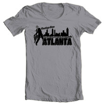 The Walking Dead T-shirt Welcome Atlanta  Zombie horror movie cotton graphic tee image 2