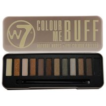 W7 Colour Me Buff Natural Nudes Eye Shadow Colour Palette In The Buff - $10.99