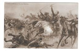 Painting Korner Invokes Help from God in Battle of Napoleonic Wars PFB Postcard - $7.95