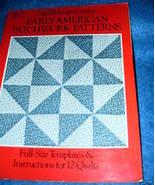 Early American Patchwork Pattern by Carol Belanger Grafton - $8.50
