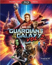 Guardians of the Galaxy 2 [Blu-ray/DVD+Digital] Walmart exclusive trading cards