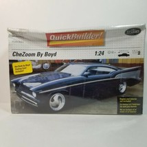 VTG Testors Quick Builders CheZoom by Boyd 1994 Model Car Kit 1/24 Scale... - $24.99