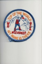 Top of the World My Name Is There Mt. Everest patch - $4.16