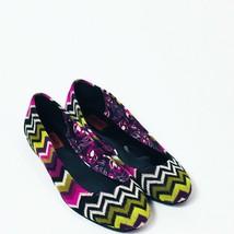 Missoni  Womens Flats Colorful Chevron  Size 5.5 - $17.81