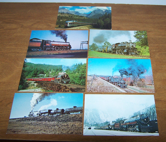 Postcards railroader