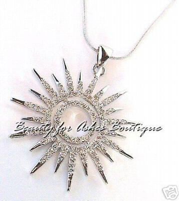Jewels Jewelry Star SUNBURST NECKLACE Sun by Park Lane
