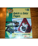 Quick & Easy Pages Scrapbook Storytelling  - $5.00