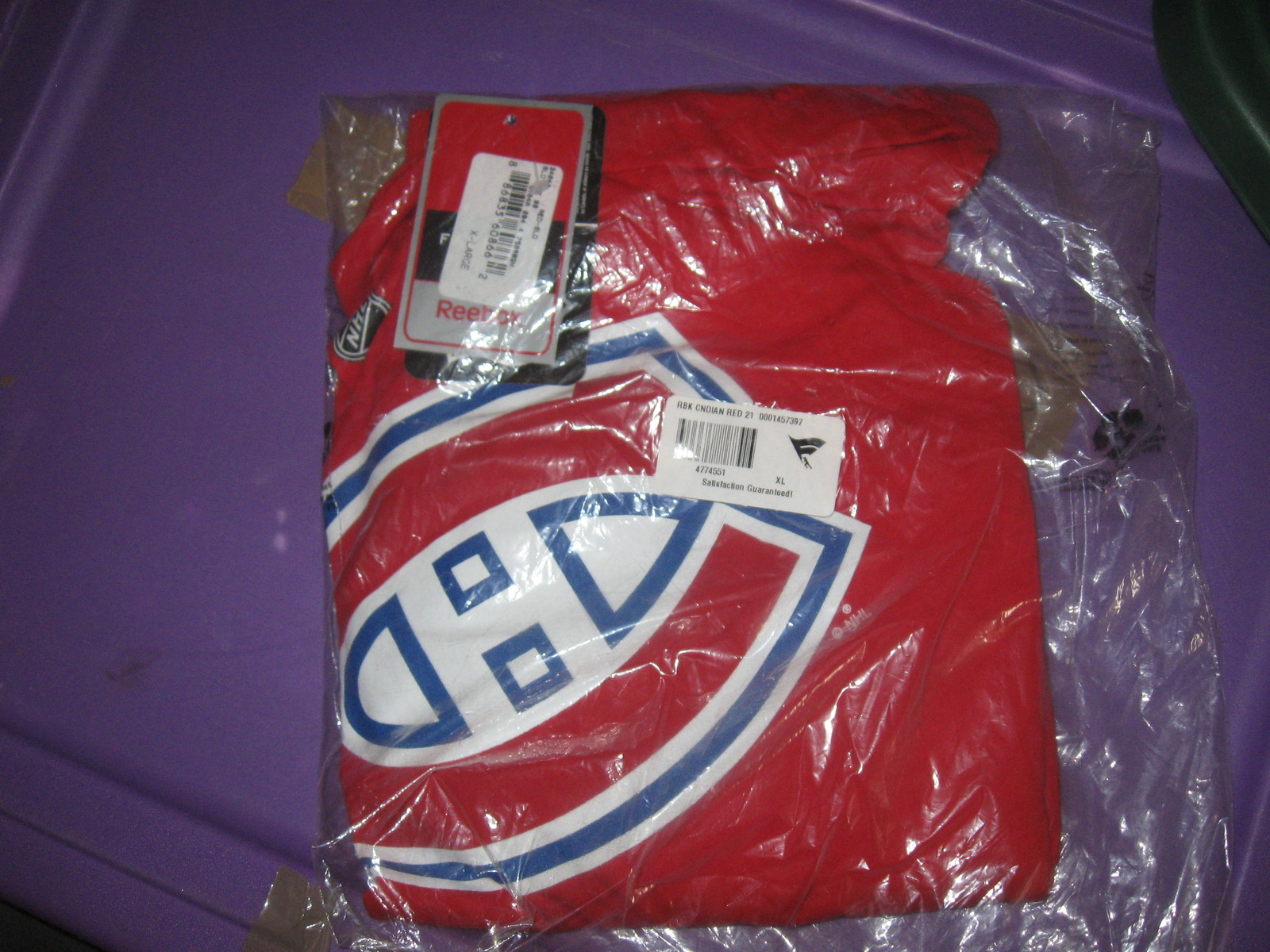 CANADIENS APEX ONE JERSEY HAT &BRIAN GIONTA  T SHIRT JERSEY(XL) RARE!