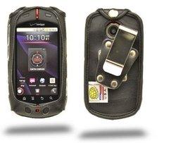 Turtleback Heavy Duty Black Leather Case for Casio GZone Commando Phone ... - $36.99