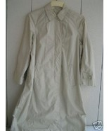 1960'S Breakfast At Tiffiney's Style Tan Trench Coat / Raincoat sz. Med.... - $24.88+