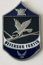 Usaf Air Force Security Forces Defensor Foris Chief Master Sergeant Coin - $49.49