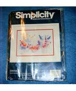 Garden Bouquet Countless Cross Stitch Kit Simplicity - $12.00