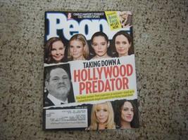 People Magazine - Hollywood Predator Harvey Weinstein Cover - October 30... - $5.35