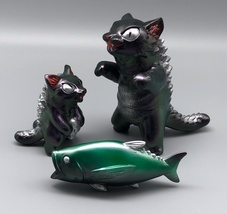 MaxToy Color-Shifting Metallic Purple/Green Negora, Micro Negora, and Fish image 1