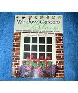 Window Gardens In Bloom Margaret Vant Erve Embroidery - $5.50