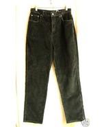 Bill Blass Brown Brushed Cord velvet Stretch Jeans-10 - $25.00