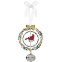 """Baby's 1st Christmas Christmas Cardinal 3D 4 3/8"""" Christmas Ornament - $12.95"""