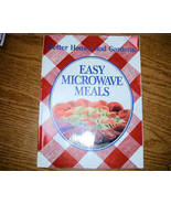 Better Homes & Gardens Easy Microwave Meals Rosemary C Hutchinson - $3.50
