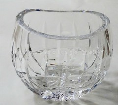 """WATERFORD CRYSTAL VASE 4.25"""" tall SIGNED acid stamped  - $64.95"""