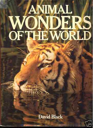 Animal Wonders of the World ~Large Coffee Table HB