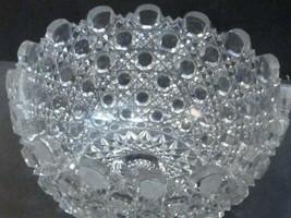 "American Brilliant Period Hand Cut Glass 10"" bowl Antique - $172.98"
