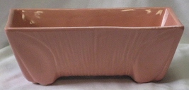 Vintage Pink/Salmon Color Planter Marked USA 3008 - $40.00
