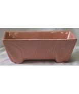 Vintage Pink/Salmon Color Planter Marked USA 3008 - $40.00