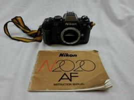 Nikon N2020 35mm film AF SLR camera body only - $34.99