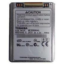 "Toshiba 30GB Internal 4200RPM 1.8"" (MK3008GAL) HDD ATA-100  ZIF connecti... - $7.91"