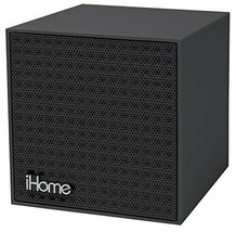 iHome Bluetooth Rechargeable Mini Speaker Cube - Black - $85.12 CAD