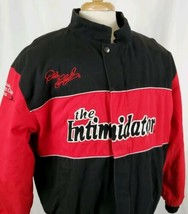 Vtg Dale Earnhardt The Intimidator Jacket Large Insulated Nascar Winston... - $58.69
