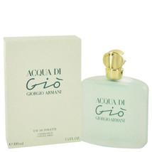 ACQUA DI GIO by Giorgio Armani Eau De Toilette Spray 3.3 oz for Women #4... - $89.86