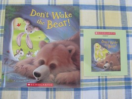 NEW Don't Wake The Bear Book and Sealed Audio CD Smallman Pedler Scholastic - $7.99