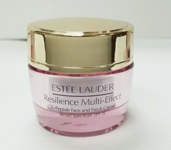 ESTEE LAUDER RESILIENCE MULTI-EFFECT TRI-PEPTIDE FACE AND NECK CREME SPF... - $27.02