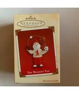 Hallmark Keepsake Ornament Santa Claus Biggest Fan 2002 in Box Christmas... - $11.29
