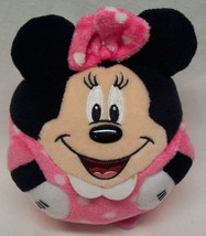 "TY Disney MINNIE MOUSE IN BALL SHAPE 4"" STUFFED ANIMAL Beanie Ballz - $18.32"