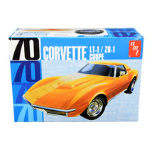 Skill 2 Model Kit 1970 Chevrolet Corvette LT-1/ZR-1 Coupe 1/25 Scale Mod... - $61.28